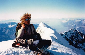 Andy relaxing on top
